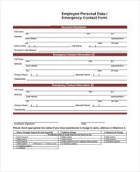 Employee Data Sheet Template Sinma Carpentersdaughter Co