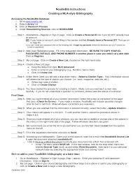 Mla Annotated Bibliography Template Ivoiregion