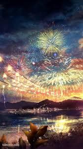 夏祭りの花火のiphone壁紙 Background2019 夏 絵夏 壁紙壁紙