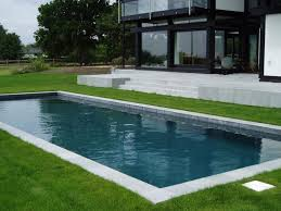 Medium Pool Designs In Ground Swimming Pool Concrete Outdoor Unique