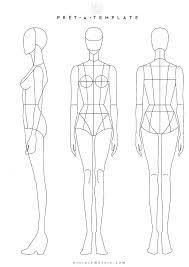 Illustrator Fashion Templates Free Via Clothing Yojanaco