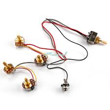 aliexpress com buy electric guitar wiring harness kits 2v 2t 3 aliexpress com buy electric guitar wiring harness kits 2v 2t 3 way toggle switch 250k pots durable from reliable har drives suppliers on imusical