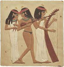 The suggestion of alcohol and hashish angered many critics, the powerful egyptian musicians syndicate and parliamentarians, including amer. Three Ancient Egyptian Female Musicians Wall Relief Plaque