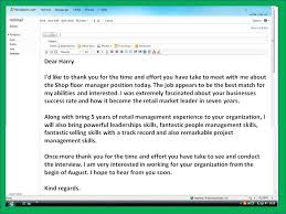 thank you note after interview sample sample thank you email after interview template business
