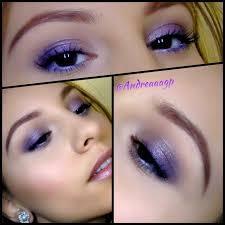 purple makeup using mac s archie s s eye shadow palette