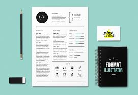 Illustrator Resume CV Cat Resume Template Illustrator By MéméDansLesOrties 11