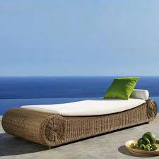 wicker day bed. Simple Day Outdoor Wicker Day Bed  Rollover In