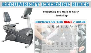 Exercise Bike Comparison Chart Best Recumbent Exercise Bike Top 7 Exercise Bikes Reviews