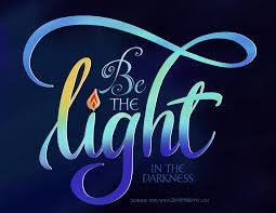 Be The Light Be The Light In The Darkness Zenspirations