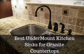 kitchen sinks for granite countertops. Best UnderMount Kitchen Sinks For Granite Countertops