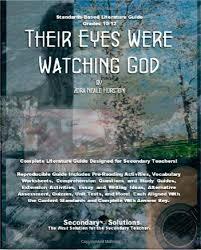 their eyes were watching god teacher guide teaching unit for their eyes were watching god teacher guide teaching unit for grades 9 12 kristen bowers 9780977229543 com books