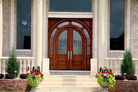 wooden glass door ideas