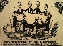 as a penny pinching undergraduate in new york power lunches the algonquin hotel site of fabled round table