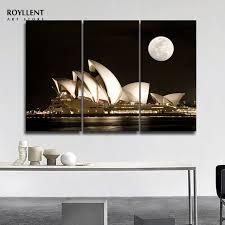 modern landscape sydney opera house photo wall art picture canvas