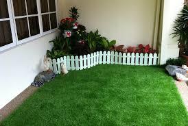 artificial grass rug decor