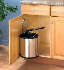 kitchen trash cans corner garbage can cabinet pull out organize with regard to designs 1 architecture kitchen trash cans