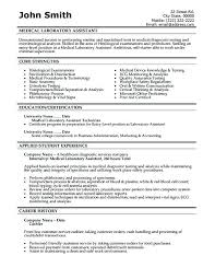 Resume Medical Technologist Thrifdecorblog Com