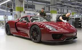 porsche 918 spyder white and red. you missed your chance the final porsche 918 spyder has been produced white and red