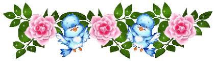 Risultati immagini per immagini gif  con fiori per dividere due argomenti