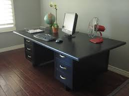 vintage office table. Modern Concept Retro Office With European Paint Finishes Vintage Table