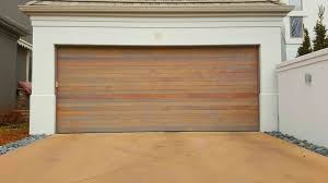 brown residential garage door denver co