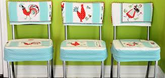 diy custom chair seat covers with a vintage tablecloth chair seat covers diy74 chair