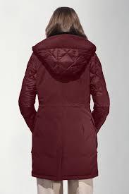 women 39 s elwin parka black label canada goose