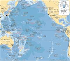Ocean Depth Chart Pacific Ocean Description Location Map Facts Britannica