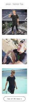 anon tanner fox by tuner anons liked on Polyvore featuring.