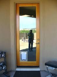 post built in dog door sliding glass for french doors patio with solutions screen door with dog built in