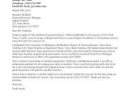 Cover Letter For New Icu Nurse Er Nurse Resume Example Cover Letter