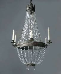 real candle chandelier crystal chandeliers obsolete wrought iron