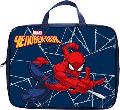 """16 отзывов на <b>Сумка для тетрадей Hatber</b> """"Человек паук ..."""