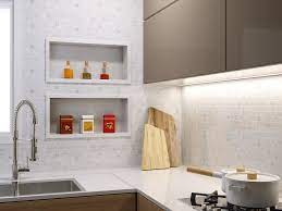 Eles podem ser encontrados em diversos cômodos de uma casa, tais como cozinha, banheiro. Cozinha Com Nicho Embutido Parede De Cozinha Nicho Na Cozinha Cozinha