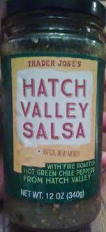 What's Good at Trader Joe's?: Trader José's Hatch Valley Salsa