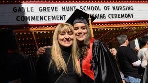 Students, Family Celebrate Hunt School of Nursing 2019 Commencement
