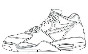 jordan shoes coloring pages and shoes coloring and sketch drawing pages coloring pages free shoes coloring