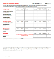 sales report example excel 30 monthly sales report templates free sample example format