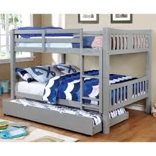 bunk bed. Brilliant Bunk Shop Furniture Of America Pello Full Over Slatted Bunk Bed  On Sale  Free Shipping Today Overstockcom 13286704 With