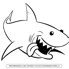 Valentine Shark Coloring Pages With Sale Clipart Blue Valentines