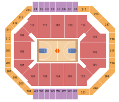 Chartway Arena At The Ted Seating Chart Norfolk