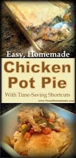 en pot pie from scratch using