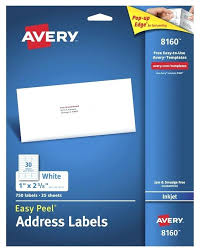 avery 1 x 2 5 8 template lovely blank address label template mailing word for labels
