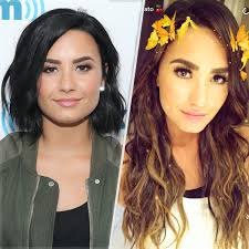 Demi Lovato Adds 15 Inches of Extensions, Gets Highlights | PEOPLE.com