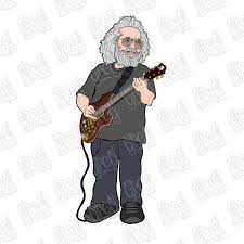 And while he revealed one part of himself through his music, his artwork though music was indeed his true love, painting, sketching and drawing were right up there for jerry garcia. Jerrygarcia Projects Photos Videos Logos Illustrations And Branding On Behance
