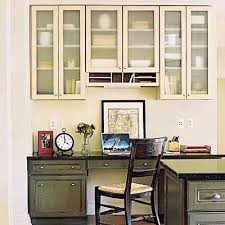 office in kitchen. A Home Office In The Kitchen. How Convenient! Kitchen