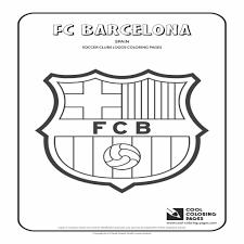 Kleurplaat Voetbal Logo Barcelona Regarding Alle Voetbal Logos Van
