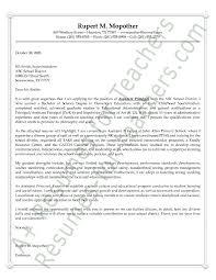 Best Cover Letter Principal Zonazoom Com
