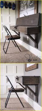 diy floating desk with storage tutorial diy wall mounted desk free plans instructions