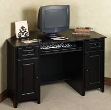 Small Computer Desk For Bedroom Furniture Small Black Computer Corner Desk Ideas Black Corner